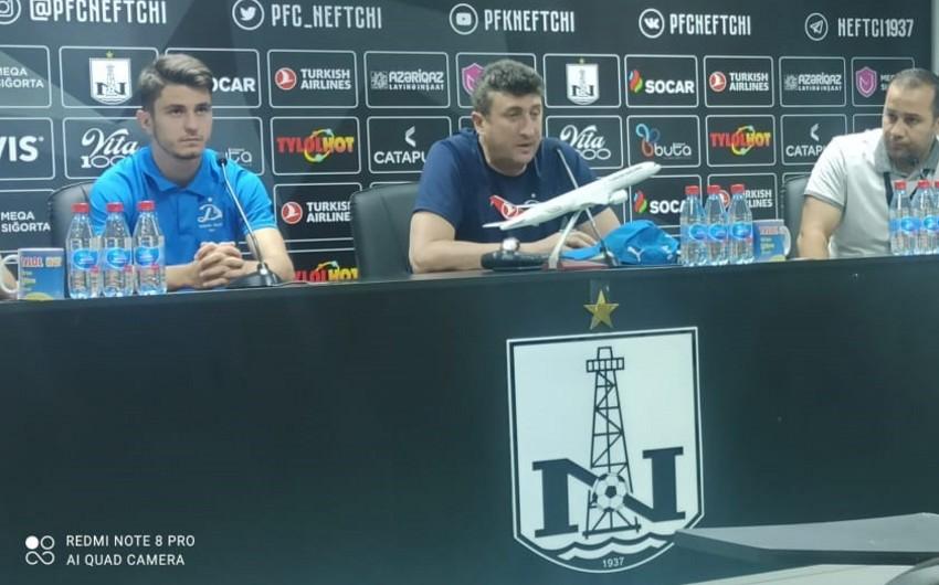 Dinamonun futbolçusu: Məqsədimiz Neftçini keçməkdir