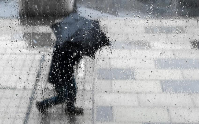 Sabah Bakıda yağış yağacaq, külək əsəcək