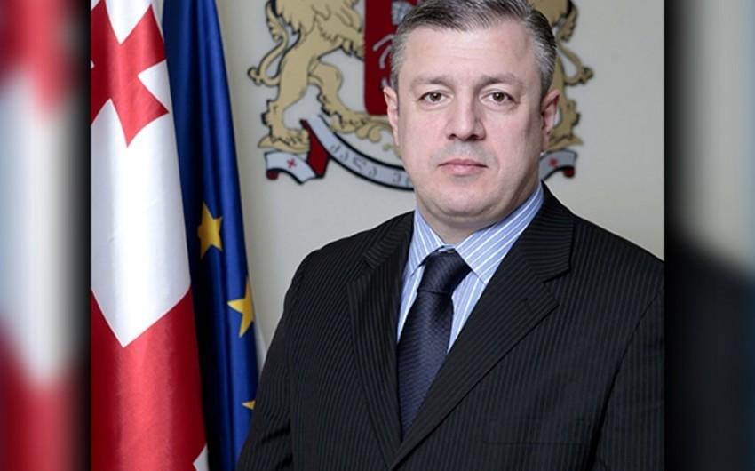 Gürcüstanın baş naziri Azərbaycan Prezidenti ilə görüşəcək
