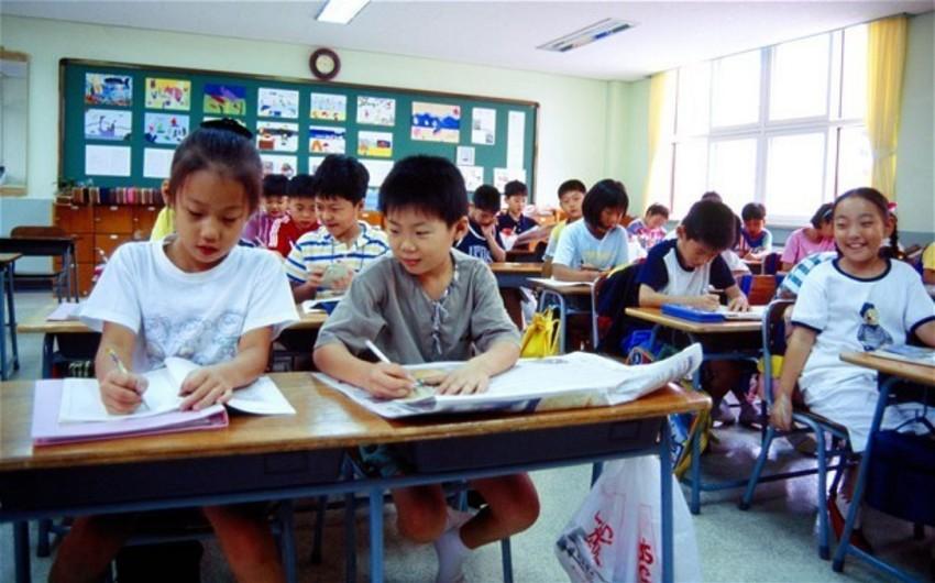Cənubi Koreyada 56 məktəbli qazdan zəhərlənib