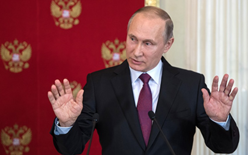 Putin: Suriyadakı vəziyyət ABŞ-ın İraqa qoşun yeritməsindən öncəki hadisələrə bənzəyir - VİDEO