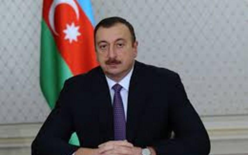 Azərbaycan Prezidenti Tailandın Kralını təbrik edib