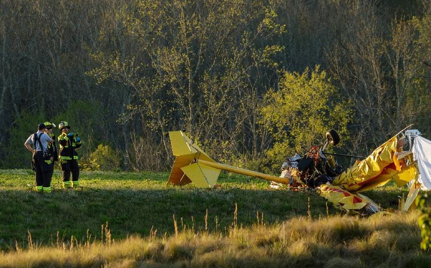 ABŞ-da təyyarə qəzası nəticəsində pilot ölüb