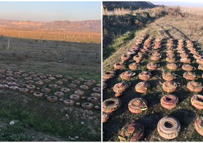 80 anti-tank mines neutralized in Jabrayil's Hasanli village