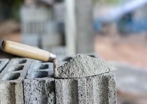 Azərbaycan Gürcüstana sement ixracını 14% azaldıb