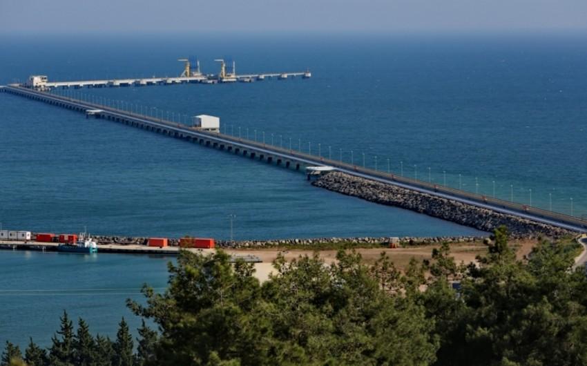 Azərbaycan neftinin Ceyhan limanından nəqli artıb