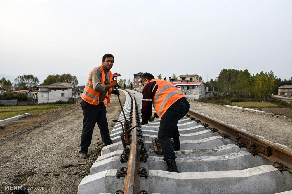 Иран завершил прокладку железнодорожной линии Астара-Астара