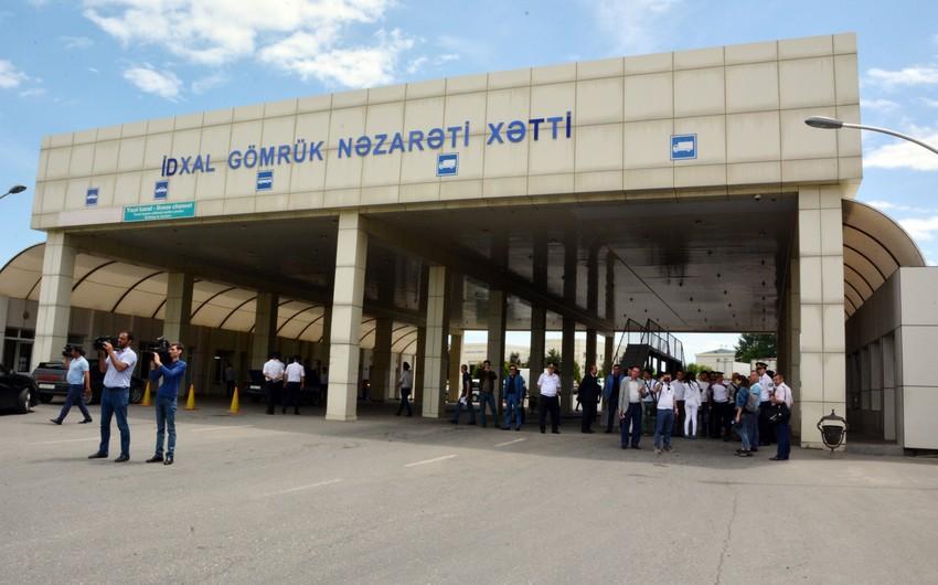 """Samur"""" gömrük postu gücləndirilmiş iş rejiminə keçib   Report.az"""