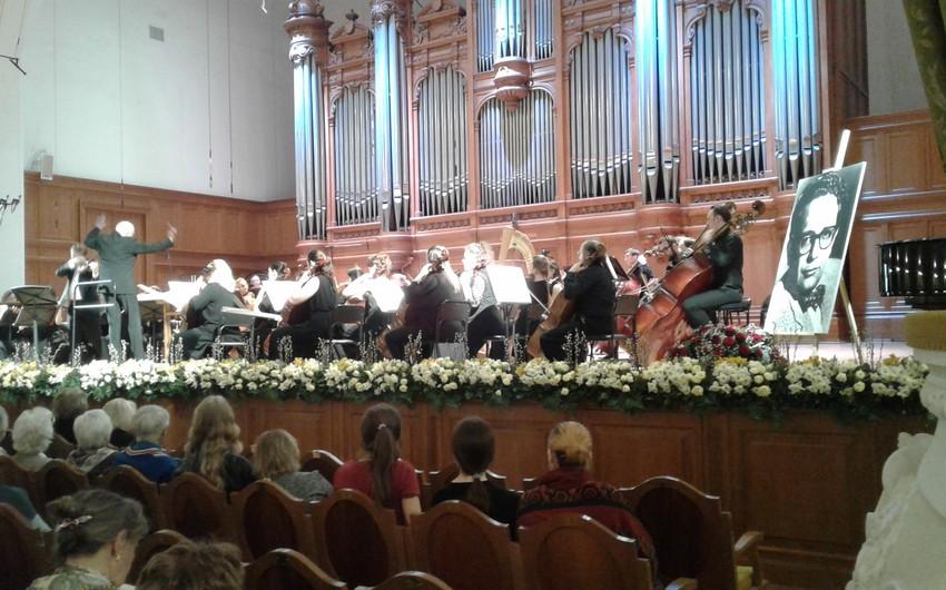 Moskvada Qara Qarayevin 100 illiyinə həsr olunmuş böyük konsert keçirilib
