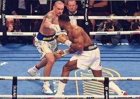 Ukraynalı boksçu Aleksandr Usik ağır çəkidə dünya çempionu olub