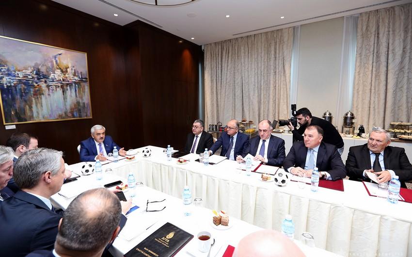 AFFA İcraiyyə Komitəsinin iclası başlayıb