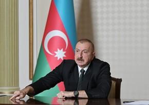 Ilham Aliyev: Pashinyan personally decided to attack Ganja