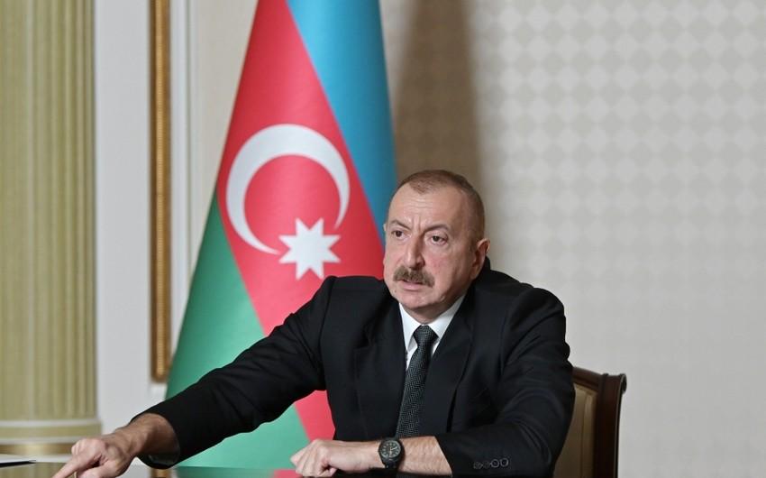 Ильхам Алиев: Если кто-то в Армении живет реваншистскими настроениями, то совершает большую ошибку