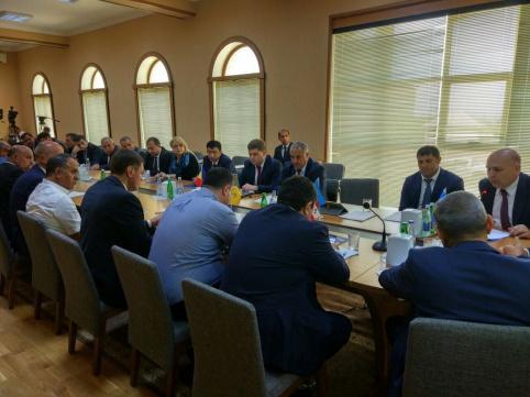 В Нахчыване обсудили реализацию Проекта по содействию торговле и транспортировке в странах ГУАМ