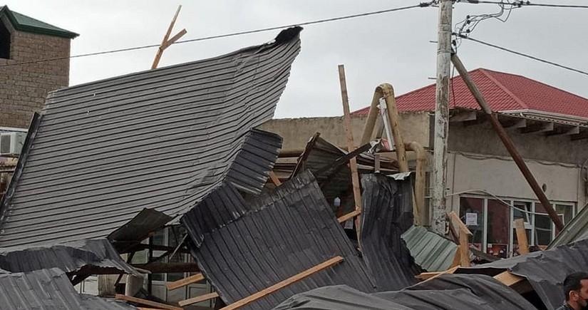 В Баку жители остались без газа из-за погодных условий