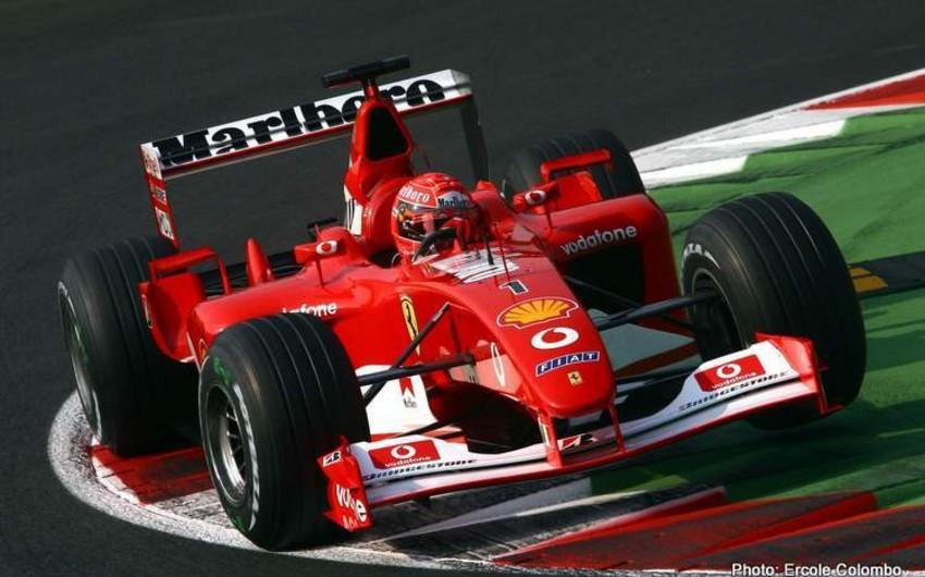 Mixael Şumaxerin çempion olduğu Ferrari avtomobili hərraca çıxarılacaq