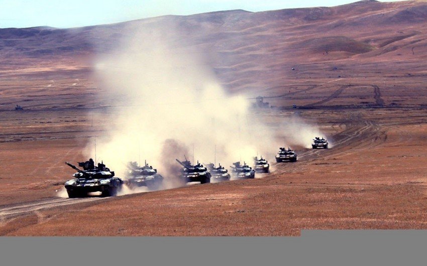 Command and Staff Exercises began in the Army Corps and formations of the Azerbaijan Army