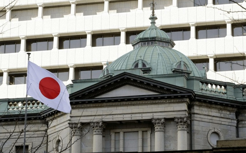 Yaponiya Bankı uçot dərəcəsini sabit saxlayıb