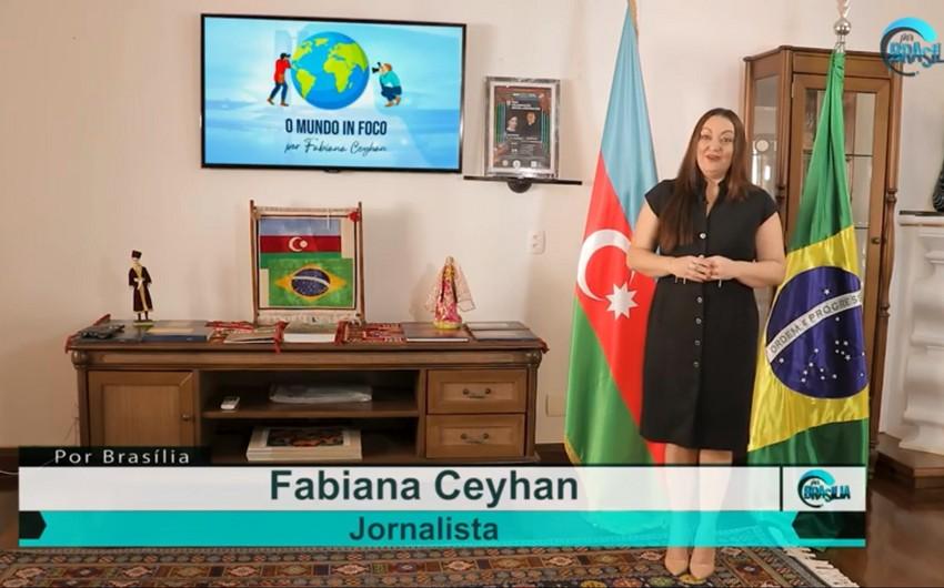 Braziliya telekanalında ölkəmizə həsr edilən proqram efirə gedib