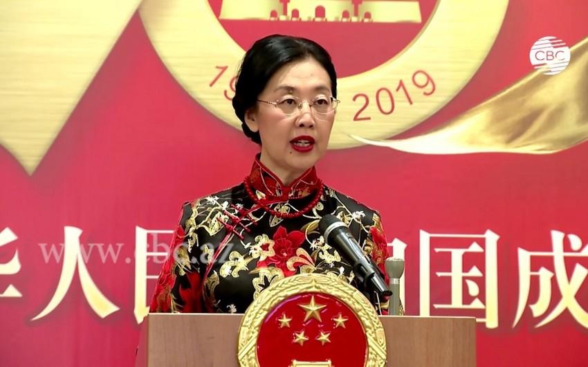 Го Минь: Китай заинтересован в развитии транспортного сотрудничества с Азербайджаном