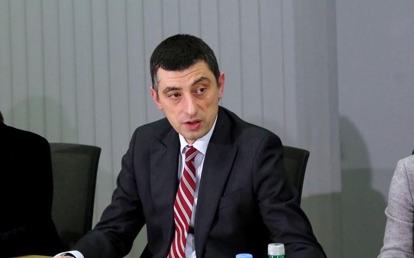 """Giorgi Qaxariya: """"Cənubi Qafqazda mehriban qonşuluq Gürcüstan üçün prioritetdir"""""""