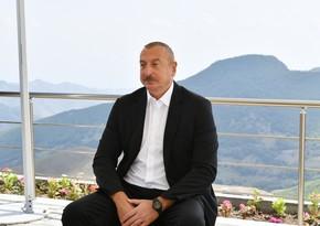 Ильхам Алиев: Мы все видим - и Ханкенди, и коридор