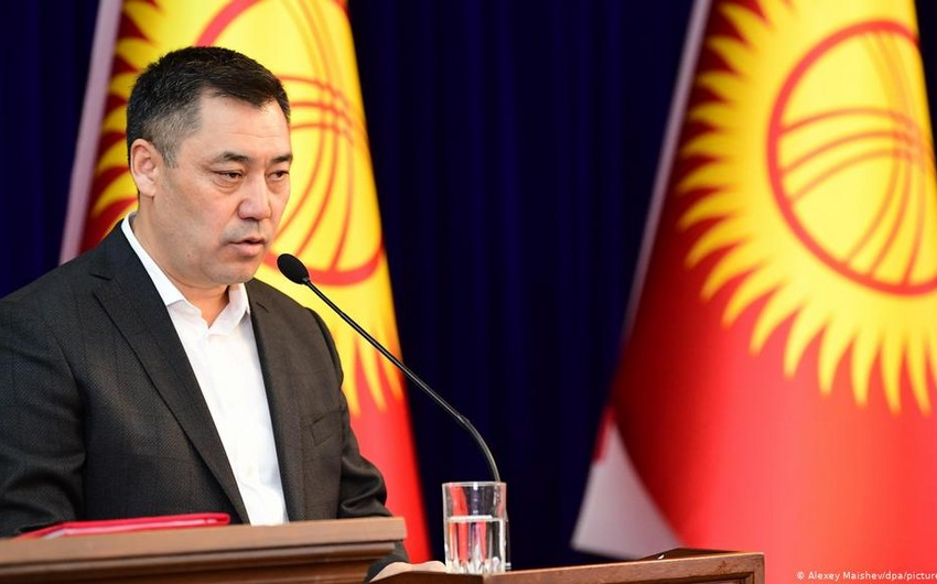 Kyrgyz president declares threat to country's territorial integrity