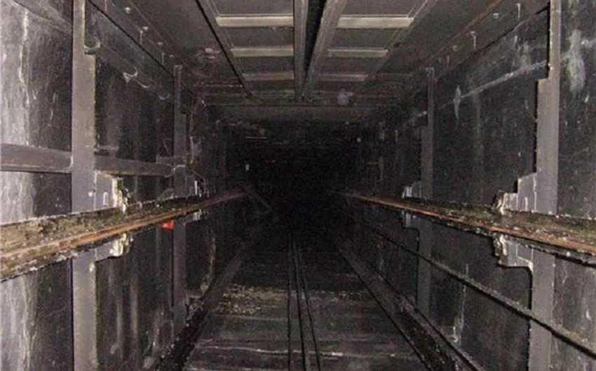 Bakıda 1 nəfər liftin şaxtasına düşüb