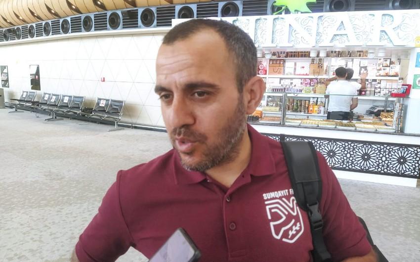 Sumqayıtın baş məşqçisi: Serbiyaya yaxşı nəticə üçün gedirik - MÜSAHİBƏ