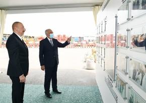 """İlham Əliyev """"Azərsun Şamaxı Aqropark""""ın açılışında iştirak edib"""