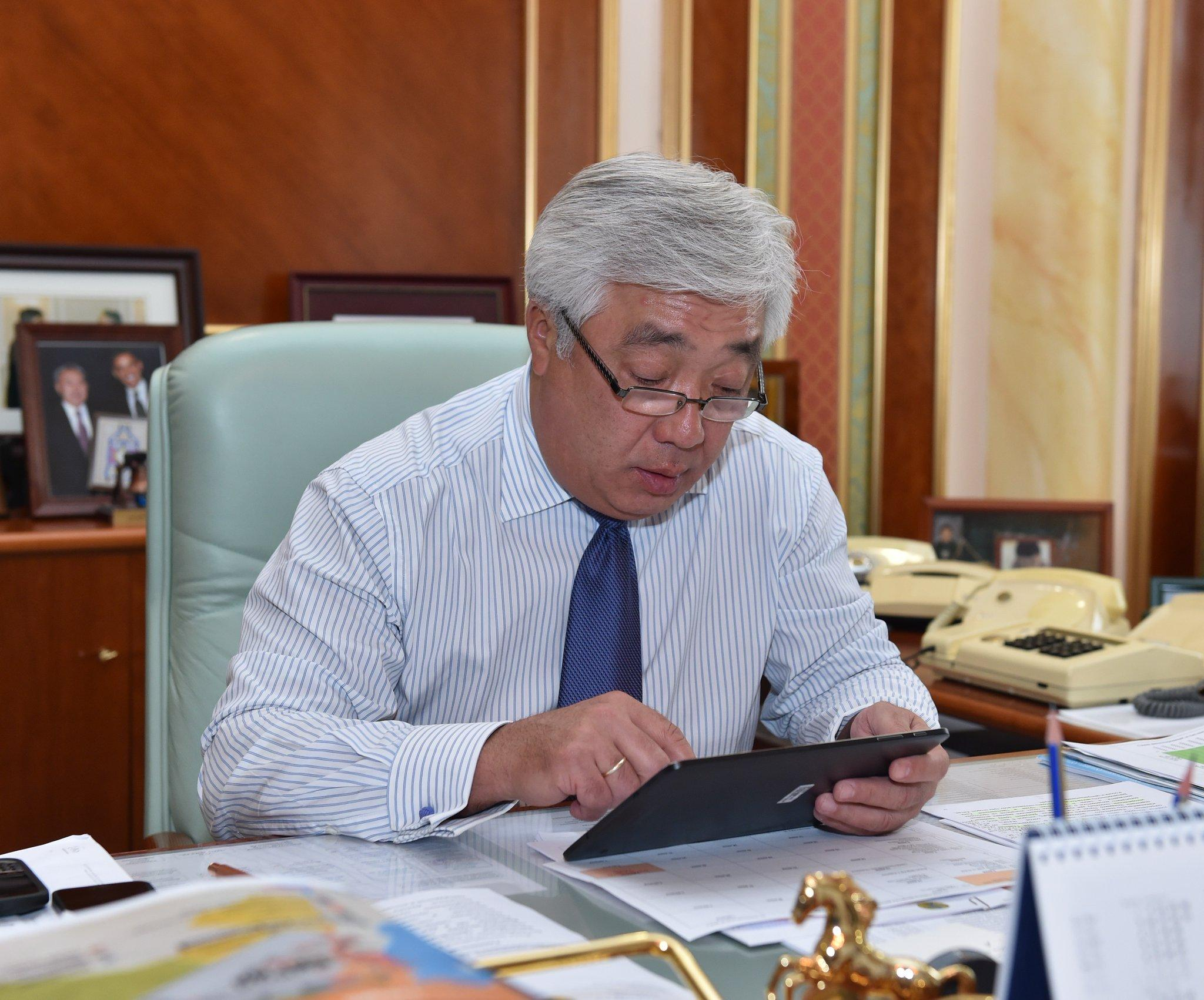 Kazakh Foreign Minister: Always glad to be back in sunny Azerbaijan
