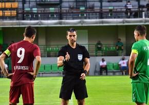 Neftçi - Dinamo matçının hakimləri açıqlandı