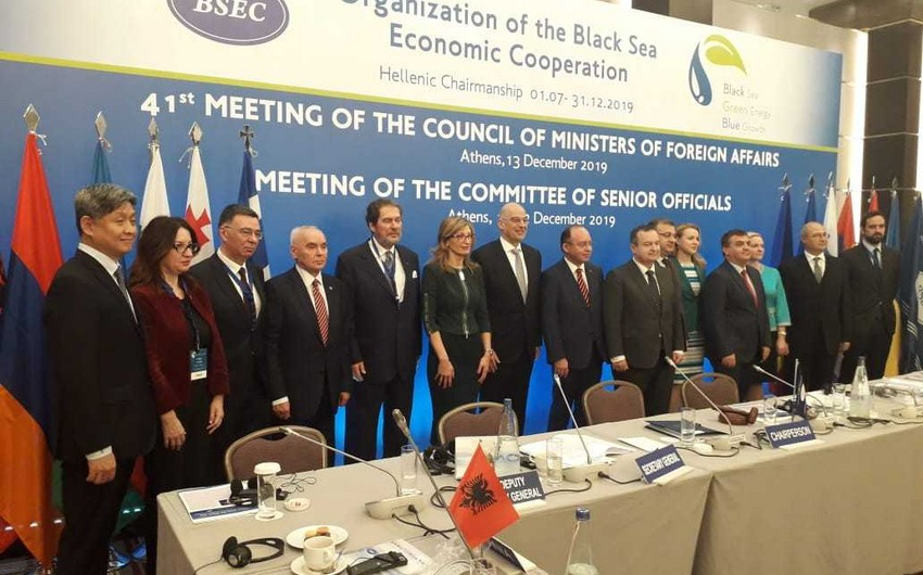 BSEC document not adopted due to Armenia's unconstructive approach
