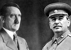 Rusiyada Stalin və Hitlerin İkinci Dünya müharibəsindəki hədəflərini eyniləşdirmək qadağan edilir