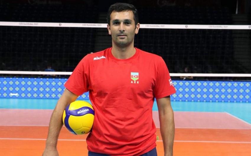Тренер сборной Азербайджана по волейболу перешел в турецкий клуб