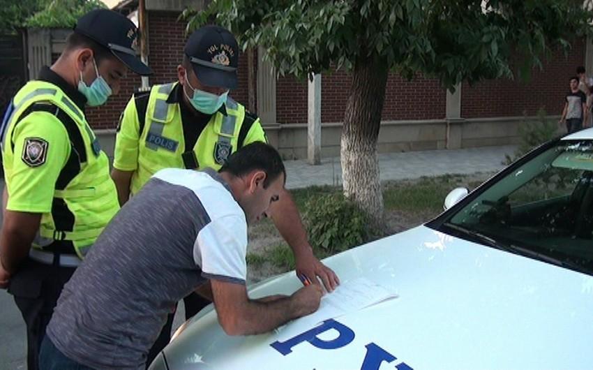 Полиция Кюрдамира провела рейд против велосипедистов