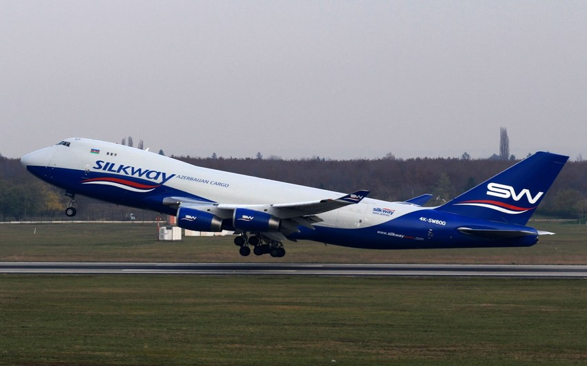 """""""Silkway West Airlines"""" şirkəti Ohayo ştatına karqo uçuşlarına başlayıb"""