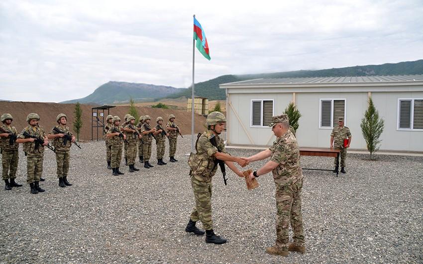 В Агдаме состоялось открытие новой воинской части - ФОТО / ВИДЕО