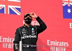 Lewis Hamilton wins Emilia-Romagna GP