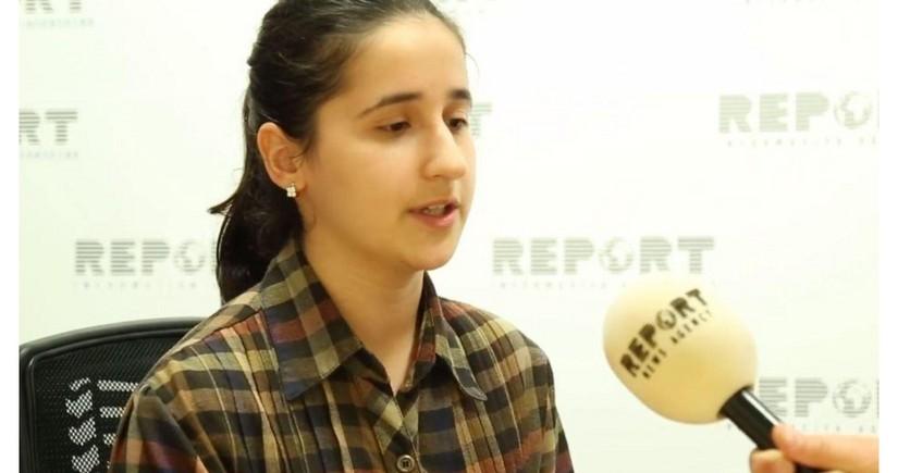 Reyhan Camalova təhsil alacağı universiteti seçib