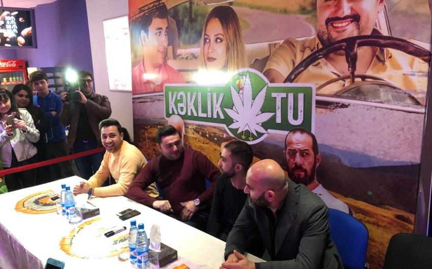 """""""CinemaPlus Xəmsə kinoteatrında Kəklikotu kino-komediyasının imza günü keçirilib"""
