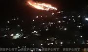 В Баку на склоне горы потушен сильный пожар - ОБНОВЛЕНО