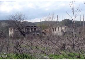 Footage of Mamar village of Gubadli