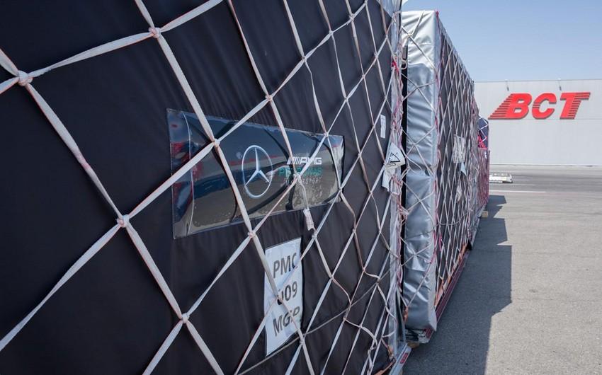 Formula-1 Azərbaycan Qran-Prisinin keçirilməsi üçün yüklər Bakıya gətirilib