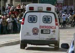 Venesuelada partlayış zamanı 30-dan çox insan xəsarət alıb