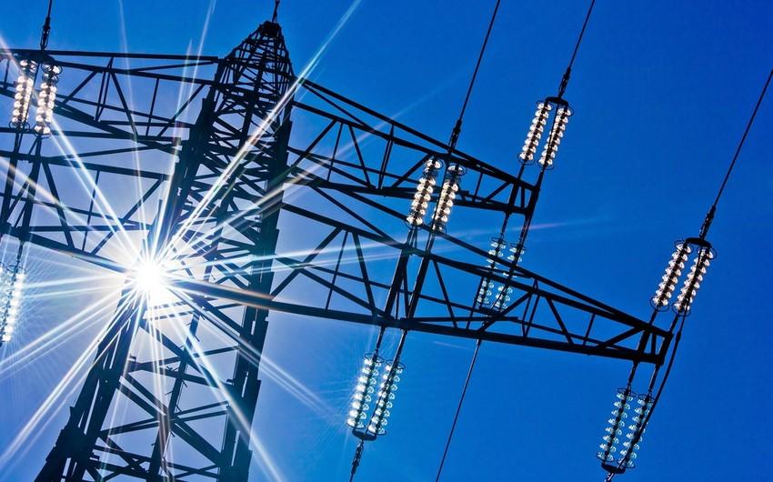 Azərbaycanın elektrik enerjisi ixracından gəlirləri 45% azalıb