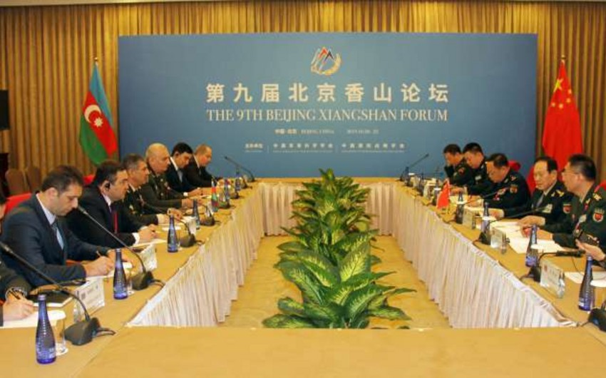 Ministers of Defense of Azerbaijan and China meet in Beijing
