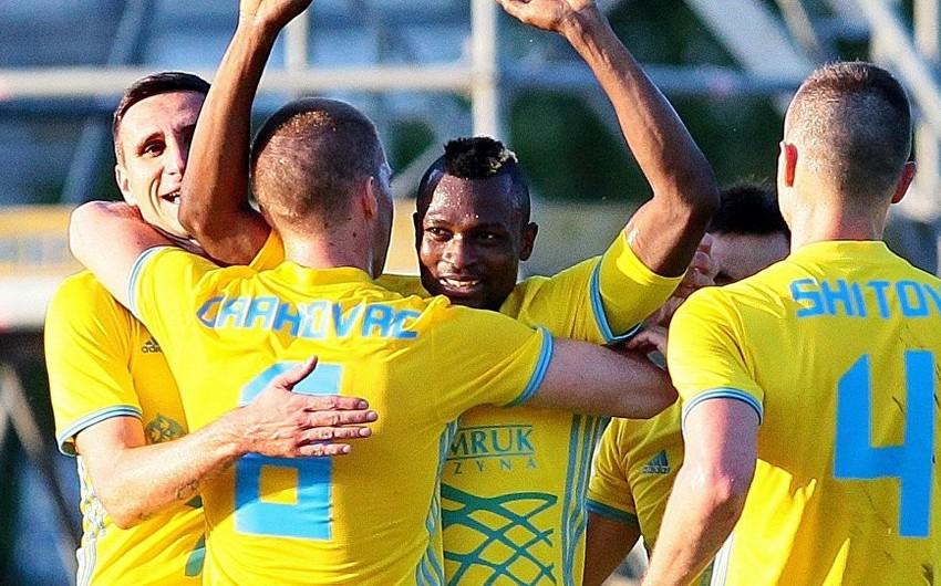 Астана первой из казахстанских клубов вышла в плей-офф Лиги Европы