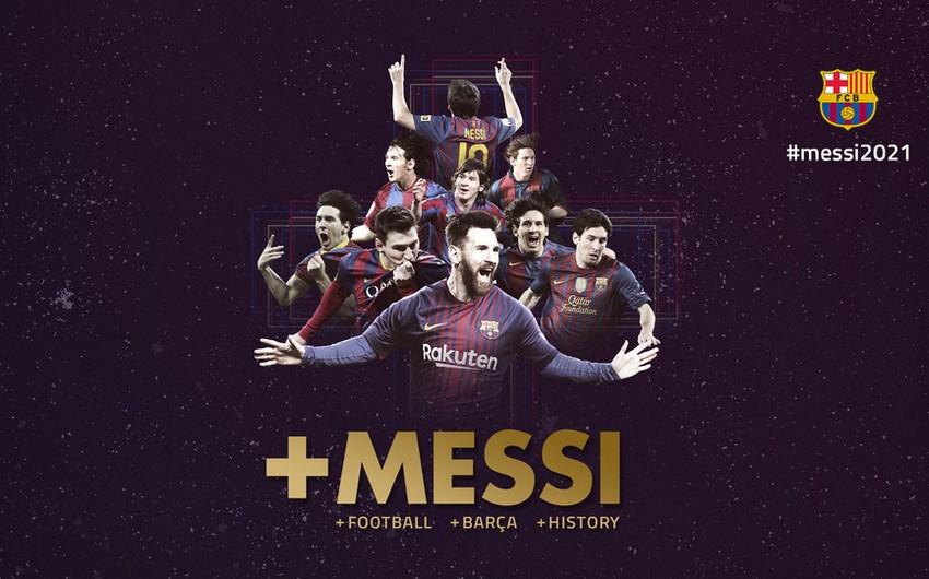 """""""Barselona"""" Lionel Messi ilə müqavilə müddətinin uzadılmasına dair razılığa gəlib"""