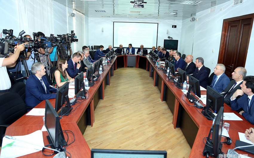 Meeting of joint commission on demarcation of Russian-Azerbaijani border held in Baku